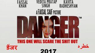 फैजल खान के जन्मदिन पर रिलीज होगी 'डेंजर'