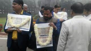 Demonetisation: Opposition observes black day a month after currency ban