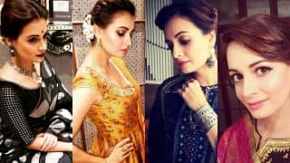 14 times birthday girl Dia Mirza stunned us with her sartorial ethnic wear!