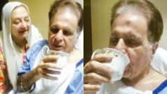 Dilip Kumar is hale & hearty! Legendary actor tweets pictures from Lilavati hospital