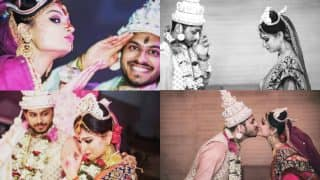 Dimpy Ganguly and husband Rohit Roy's marriage anniversary pictures will make you blush