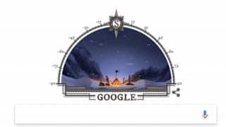 Google Doodle celebrates 105th anniversary of Roald Amundsen's First Expedition to South Pole