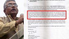 BJP registered FIR against Imam Barkati