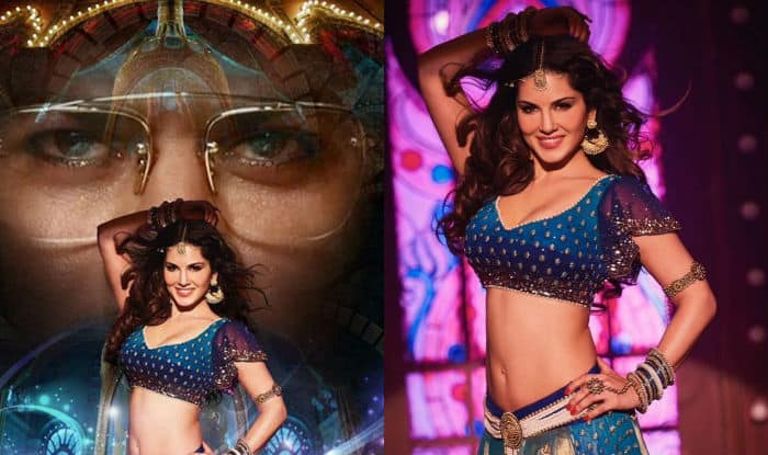 Check Sunny's Sizzling Avatar in Laila Main Laila Song Poster
