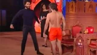 Ranveer Singh vs. Baba Ramdev yoga-dance battle is the most hilarious thing you'll watch today