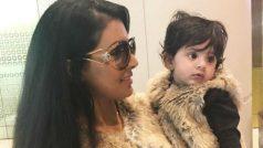 तैमूर से कम क्यूट नहीं है हरभजन सिंह की बेटी हिनाया, देखें PHOTOS