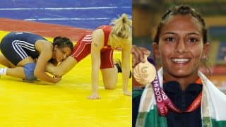 Geeta Phogat, real Dangal wrestler's gold medal winning moment at Commonwealth Games 2010 final! Watch video