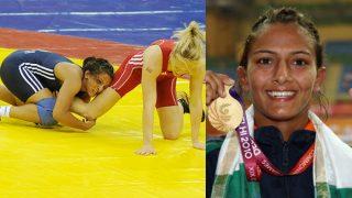 Geeta Phogat, real Dangal wrestler's gold medal winning moment at Commonwealth Games 2010 final! Watch video