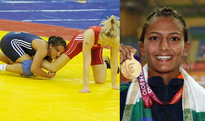 geeta phogat real dangal wrestler s gold medal winning moment at geeta phogat real dangal wrestler s gold medal winning moment at commonwealth games 2010 final watch video
