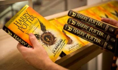 Top 20 Best Selling Books of 2016: Harry Potter and the cursed child is Amazon's top selling book!