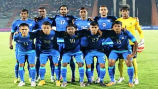 India national football team finishes at 135th in FIFA rankings; the best in the last six years