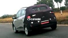 Hyundai Grand i10 2017 spied testing in India