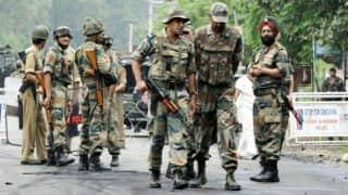 Baramulla: Militant gunned down in encounter in Haritar Tarzoo, arms recovered