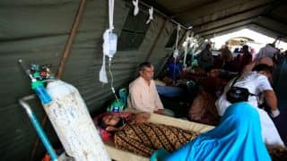 45,000 left homeless after Indonesia earthquake