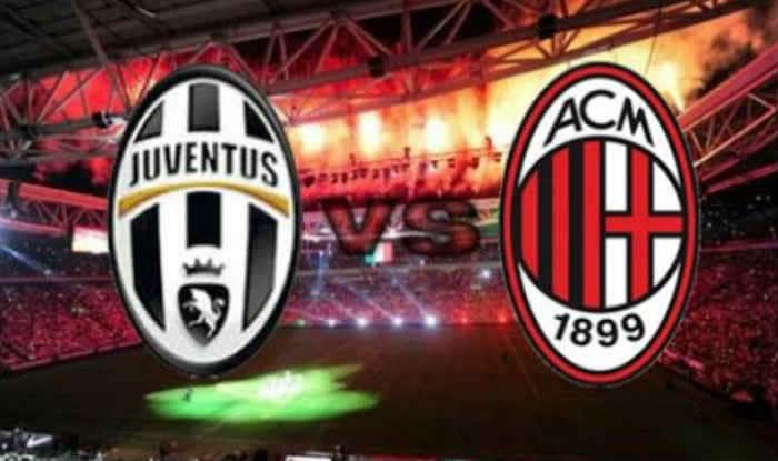 Juventus vs AC Milan in Italian SuperCoppa