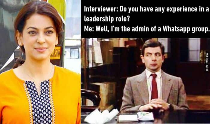 Juhi Chawla and Mr Bean joke