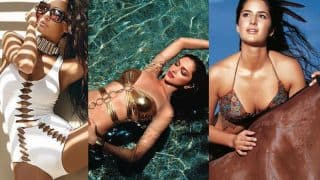 These 12 hot Bollywood actresses who sizzled as Kingfisher Swimsuit Calendar models!