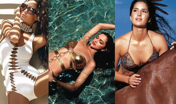 These 12 Hot Bollywood Actresses Who Sizzled As Kingfisher Swimsuit Calendar Models India Com