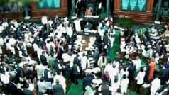 Opposition protests like wrestling: BJP member in Lok Sabha
