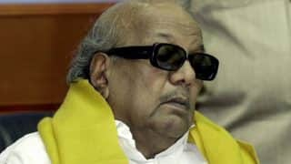 M Karunanidhi undergoes tracheostomy, his condition stable