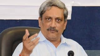 For peace, but not a coward to compromise on security fearing war: Manohar Parrikar