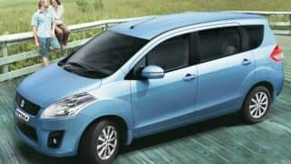 Maruti Sukuzi Ertiga's New Model Showcased in Indonesia