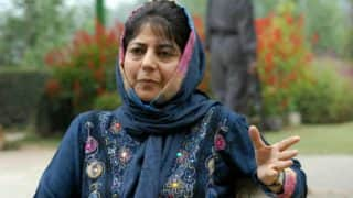 Horrified by Use of National Flag in Support of Rape and Murder Accused: Tweets Mehbooba Mufti