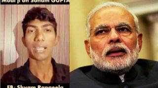 Shyam Rangeela mimicking PM Narendra Modi's reaction to 'Sonam Gupta Bewafa Hai' is going viral! Watch video
