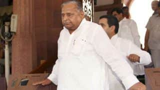 SP Leader Mulayam Singh Yadav Gets Emotional, Says Nobody Respects Him Now