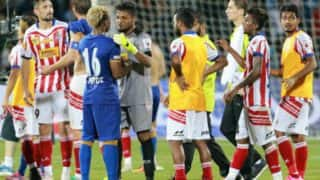 Here is the video of ugly fight that took place after Mumbai City FC vs Atletico de Kolkata ISL 2016 semifinal match