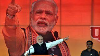 पीएम नरेंद्र मोदी कानपुर रैली लाइव अपडेट्सः परिवर्तन रैली में लाखों समर्थकों के जुटने का दावा, नोटबंदी पर फोकस