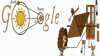 340th anniversary of determination of speed of light: Google Doodle honours Ole Romer's historic discovery