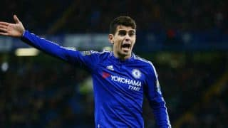 Chelsea FC midfielder Oscar to join Shanghai SIPG in £60m January move