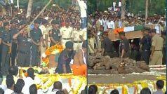 Pandharpur: Last rites ceremony of Major Gosavi Kunal Mannadir, who…