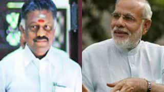 Bharat Ratna for Jayalalithaa: Tamil Nadu CM O Panneerselvam to meet PM Narendra Modi today