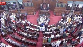 Alwar lynching by 'gau rakshaks' rocks Parliament, Centre says 'no such incident took place'