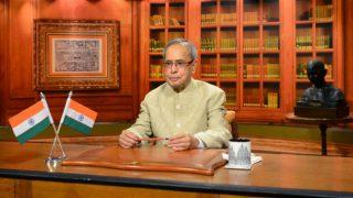 Demonetisation will fight 'corruption, black money: President Pranab Mukherjee