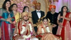 Ishant Sharma ties the knot with Pratima Singh: MS Dhoni is among the famous persons who attend Ishant's wedding reception