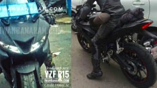 Yamaha R15 V3 spotted testing on video; India launch by mid-2017