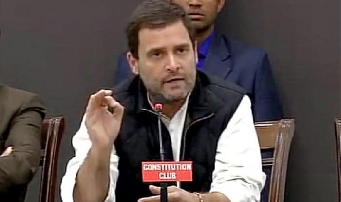 File photo of Rahul Gandhi (image source: ANI)