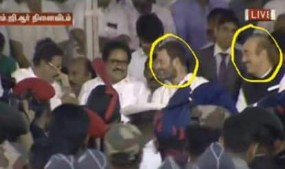 Rahul Gandhi smiling pictures during Jayalalithaa's funeral go viral, cause uproar on social media