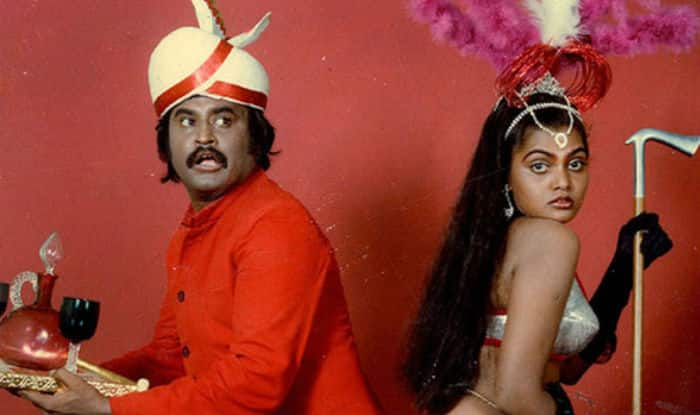 Rajinikanth and Silk Smitha