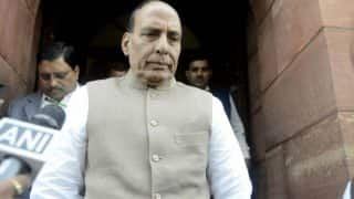 Rajnath Singh Likely to Speak in Parliament on Chandigarh Stalking Case
