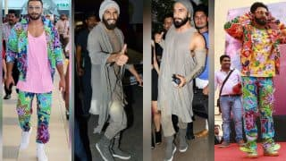 OMFG! Ranveer Singh's eye popping outfit is outrageously INSANE and we LOVE it!