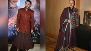 OMFG! Anupam Kher twinning with Ranveer Singh is insanely awesome!