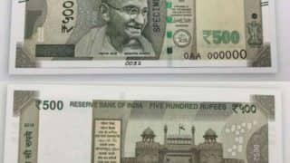 RBI issues new Rs 500 notes; Current currency notes to remain in circulation