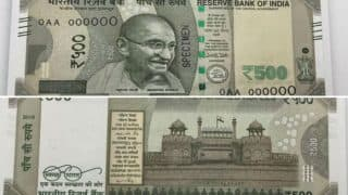 RBI to shortly issue Rs 500 notes in new series
