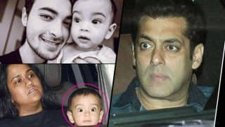 See Pictures: Salman Khan's nephew Ahil looks EXACTLY like his superstar mamu, here's proof
