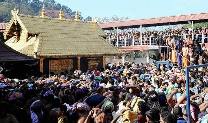 Sabarimala temple (image source: PTI)