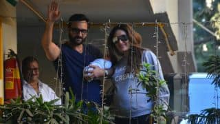 Spotted! Kareena Kapoor Khan, Saif Ali Khan at home with son Taimur! (See Pictures)